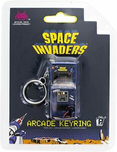Space Invaders Arcade Keyring Keychain Paladone Taito Licensed Product