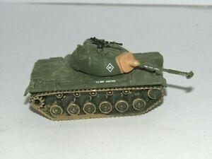 WWII CORGI FIGHTING MACHINES VIETNAM US M48 TANK EXCELLENT CONDITION