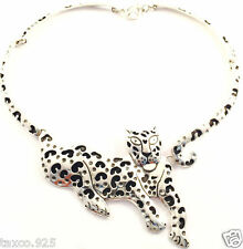 Silver Jaguar Necklace Mexico Taxco Mexican 925 Sterling