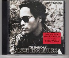 (HG981) Lenny Kravitz, It Is Time For A Love Revolution - 2008 CD