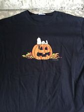 Snoopy Pumpkin Halloween Peanuts Shirt. Size Large. New!