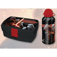 Marvel Star Wars Lunch Box & Bottle Set Children's School Work Food Container