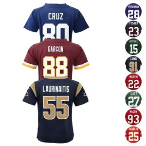 Nike Official NFL Home Away Alt Team Player Game Jersey Collection Boys SZ (4-7)