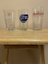 New listing Lot Of 3 Vintage Drinking Glasses