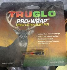 Truglo Pro Wrap Fiber Optic Sight Pin Red No. Tg842Wr