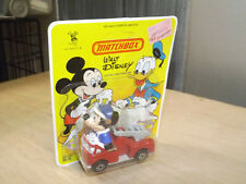 Matchbox Die-cast Fire Truck Disney Firefighter Mickey Mouse Vintage 1979 Toy