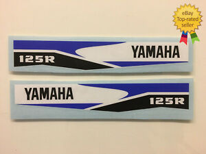 2 X DTR 125 Decals / Stickers Perfect for Forks Water proof Exterior grade.