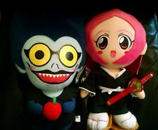 Lot of 2 Anime Plush dolls Girl with sword asuna deathnote toys figure japanese