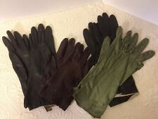 Women's Vintage Soft Leather hand dress gloves, accessories, Fowne
