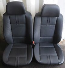 BMW Front Seat Set X3 E83 Electric Memory Black Leather