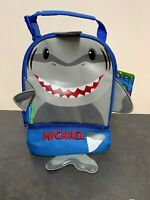 Stephen Joseph Shark Lunch Bag/Lunch Pal Personalized- Michael