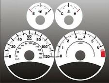 2007-2008 Jeep Compass Dash Cluster White Face Gauges 07-08