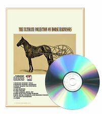 Horse Harness How to Make Repair Van and Cab Harness Maker - 7 Old Books on CD