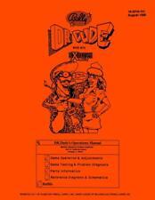 Dr Dude Pinball Game Operations/Service/Repair Manual/Arcade Machine Bally   PPS