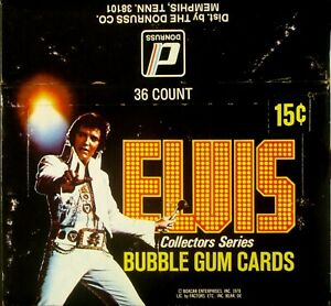 1978 Donruss Elvis - Empty Display Box