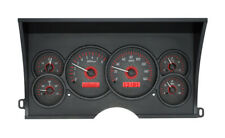 1988-94 Chevy GMC C/K 1500 2500 Dakota Digital Carbon Fiber / Red Gauge Kit