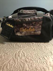 New CABELA'S Catch-All Gear Bag Camo Camoflague Hunting Fishing Range Duffle Zip