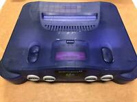 Nintendo 64 N64 Funtastic Grape Purple CONSOLE ONLY Tested / Working  (Preowned)