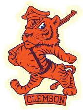 Clemson University  TIGERS  (College)  Vintage-Looking   Travel Decal  Sticker
