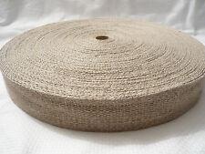 Hanfgurt 40 mm breit, 50 m Rolle, Taschengurt Hanf Gurt Gurtband