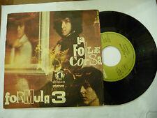 """FORMULA 3""""L FOLLE CORSA-disco 45 giri NR.UNO1971"""" PROG.ITALY"""