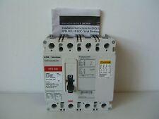 EATON Cutler-Hammer Industrial Circuit Breaker HFD 65k HFD4030L 4 Pole 30A 600V