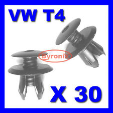 VW T4 T5 Transporter Interior Trim Panel CLIP Nero X 30