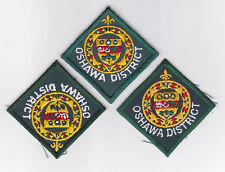 SCOUT OF CANADA - CANADIAN SCOUTS ONTARIO (ONT) OSHAWA DISTRICT Patch