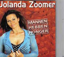 Jolanda Zoomer-Mannen Hebben Honger cd single