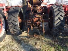 2 184 X 30 Tractor Titan Tires 99 Tread Bolted To 9 Bolt Steel Rims No Air