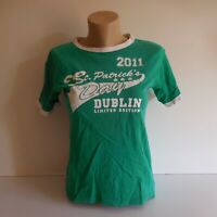 T-shirt maillot ST-PATRICK'S DAY 2011 Dublin LIMITED EDITION LANSDOWNE N3642