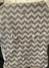 Original+Gray+And+White+Infant+Carseat+Canopy+thick+velvet+blanket