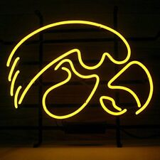 "New Hawkeyes Neon Light Sign 17""x14"""