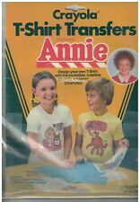Vintage 1980s Annie T-Shirt Transfers  Little Orphan Annie NOS