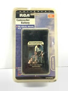 RCA VHS Universal Camcorder Video Camera Battery EP096FL Hitachi Minolta Sears +