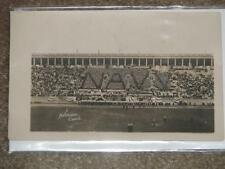 RPPC, Navy Football Game, unused vintage card