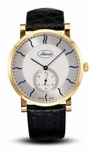Gold Plated Case Men's Swiss Made Watches