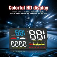 Car D5000 OBD2 Instrument Car Speedometer Computer Projector HUD Head Up Display