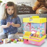 Children Catching Doll Machine Catcher Grab Music Clip Mini Grabber Claw Game