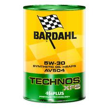 Bardahl 308040 TECHNOS XFS AV504 5W30 Olio Motore Lubrificanti Auto 1 LT