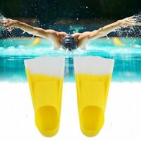 Swimming Snorkeling Training Short Blade Fins Swim Flippers For Youth Adult BR