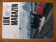 Lok Magazin 81 1976 Drehgestell Stromlinien Dampflok 06002 Belgien T16 Canadian