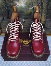 💥 Nuovo di Zecca Dr Martens 1460 Stivali MADE IN ENGLAND UK 6 AMARANTO quilon 💥