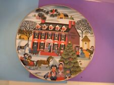 """""""Olde Countrie Inn"""" by Betsey Bates - Limited Edition Christmas 1978"""