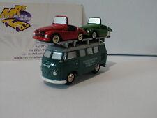 """Schuco Piccolo 05193 - VW Bus T1 """" Kleinschnittger """" m. 2 Kleinschnittger  NEU"""