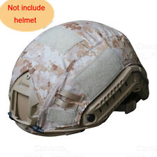 Outdoor Airsoft Paintball Tactical Military Gear Combat Fast Helmet Cover AOR1