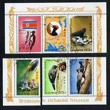 COREA 1978 - Uccelli - Picchio di Tristram - USATO da Foglietto