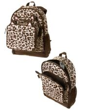 GYMBOREE LEOPARD SKIN PRINTED BACKPACK w/ MATCHING LUNCHBOX NWT