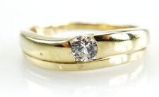 Ring 333er Goldring 8 Karat Gelbgold Zirkonia Steine 2,04 Gramm - Gr. 54
