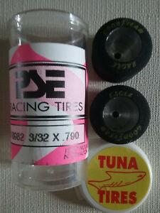 PARMA # 70982 New 3/32 x .790 Tuna Slot Car Tires - PSE Racing Tires